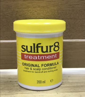 Sulfur8 Treatment Hair& Scalp Conditioner - 200ml